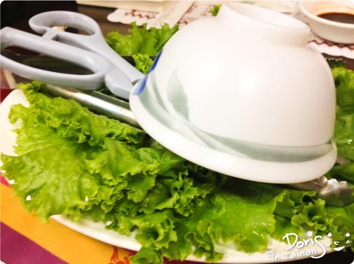 韓國館-烤肉菜盤