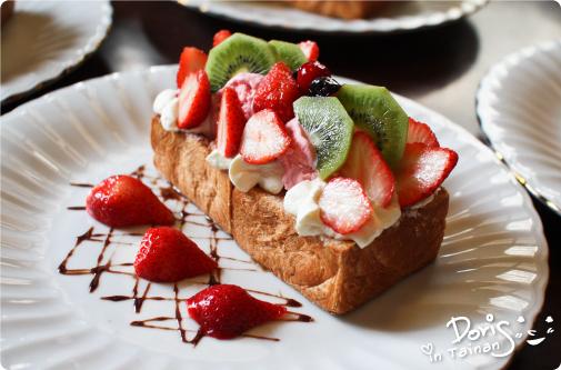 鹿早茶屋-草莓森林蜜糖吐司