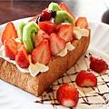 鹿早茶屋-草莓森林蜜糖吐司2