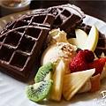 鹿早茶屋-水果鬆餅