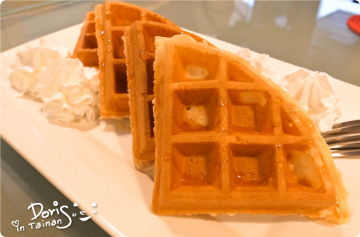 52-Caf'e-蜂蜜奶油鬆餅