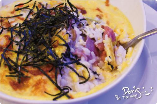 伊甸風味館-焗蛋牛肉烤飯1