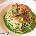 Good-Day-主餐青醬義大利麵塔香煎雞腿排1