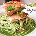 Good-Day-主餐青醬義大利麵塔香煎雞腿排