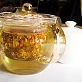 小頭的副餐飲料-花茶