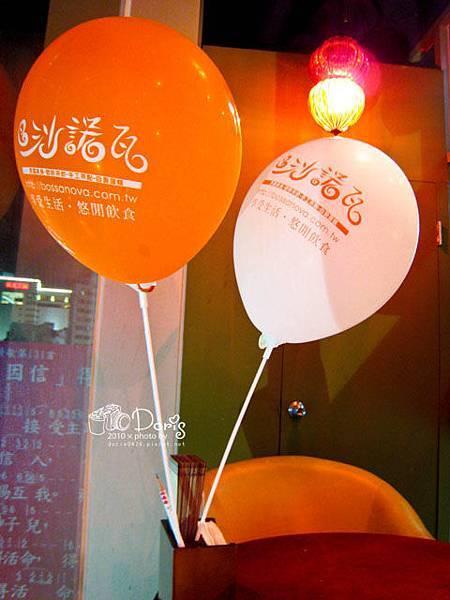 每桌都有的裝飾氣球