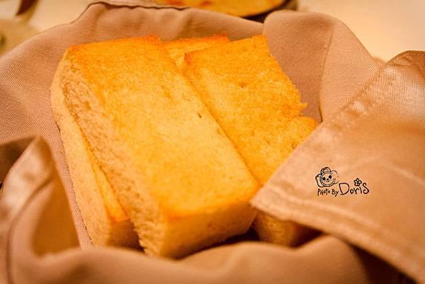 蒜味方塊麵包