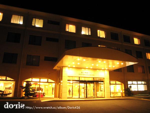 晚上飯店外觀