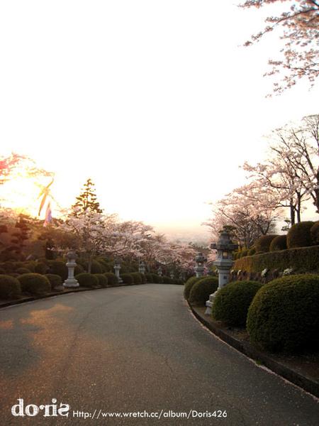 接近夕陽的時候更漂亮