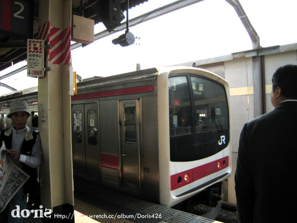 往迪士尼的電車來了