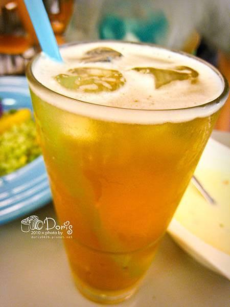 附餐飲料綠茶