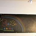 公告黑板上也有貓