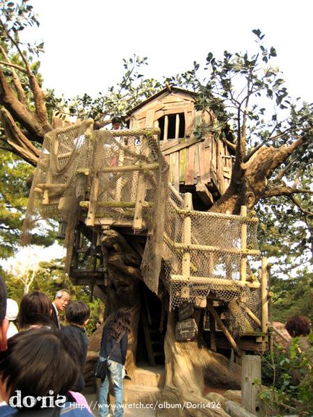 湯姆住的樹屋