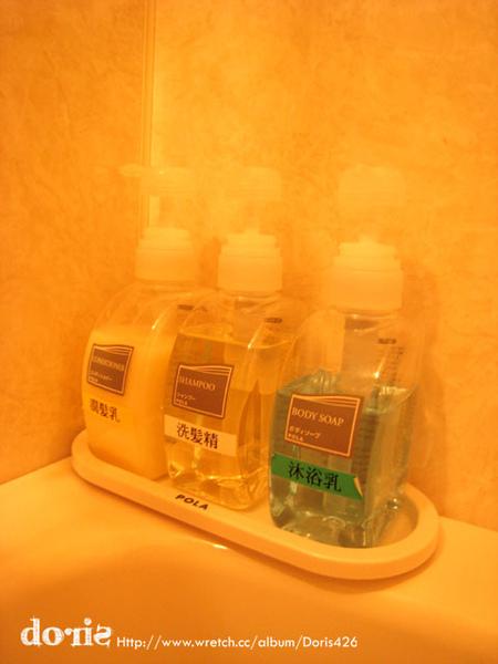 衛浴用品很好用