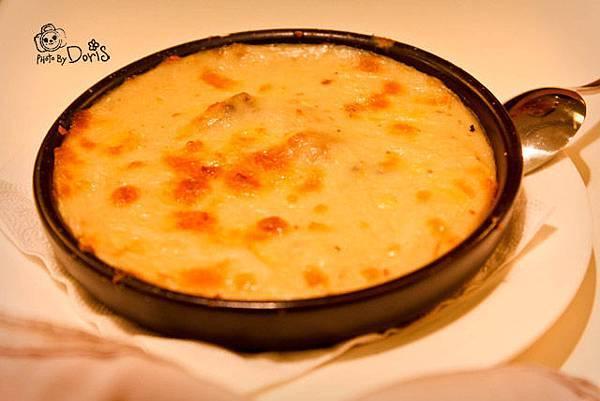 磨菇焗烤醬,沾麵包用的