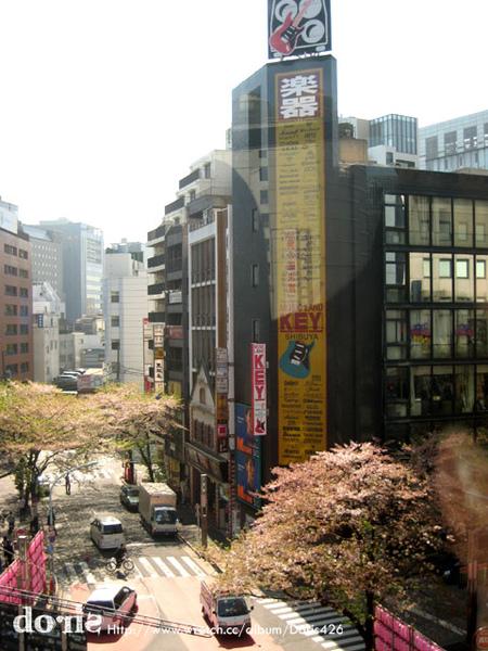 東京市區的建築都好高