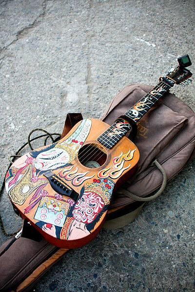 很漢味的吉他