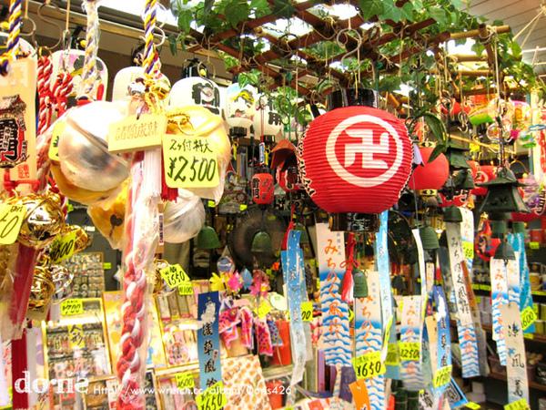 日本的紀念品看起來都好精緻