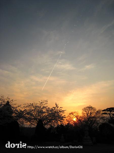 太陽要準備下山了