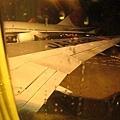 下著濛濛細雨,回台灣了