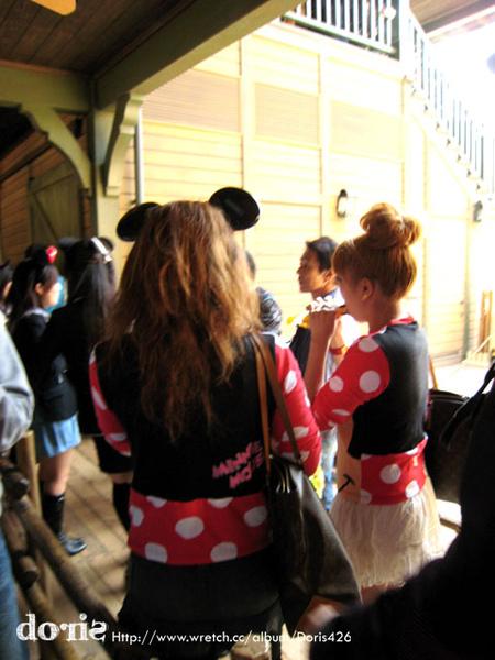 日本美眉都會打扮成米妮