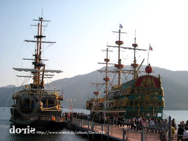 好壯觀的海盜船