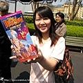 入園每人都要拿一本迪士尼的地圖