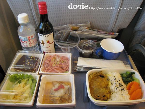 機上的午餐