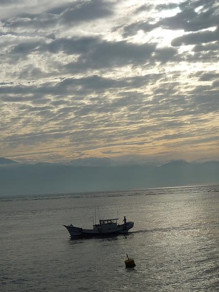 小琉球的日出