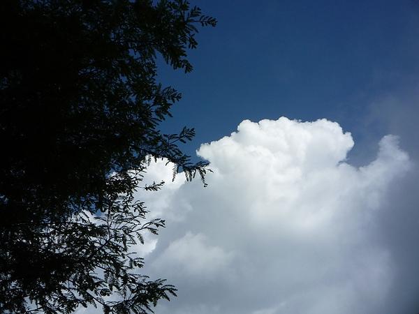 清境的雲好藍