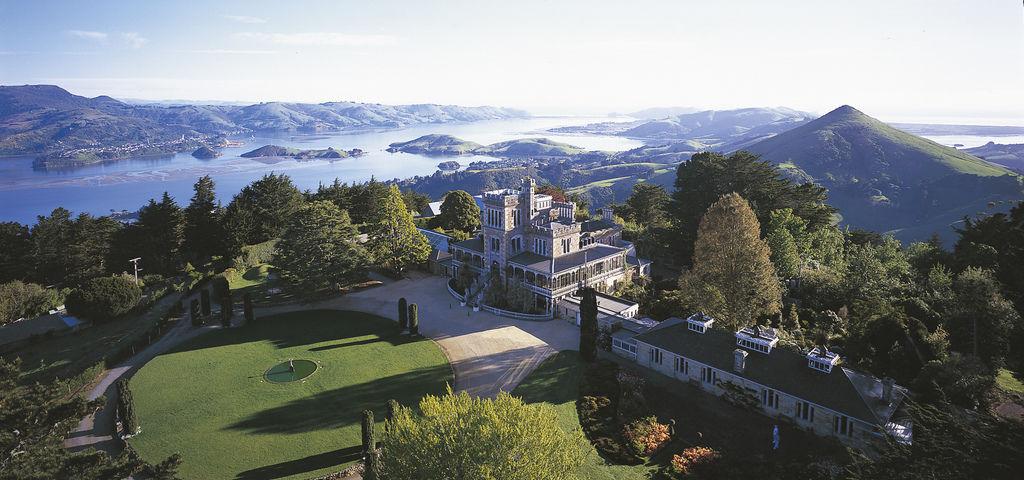 larnach-castle-morning-aerial