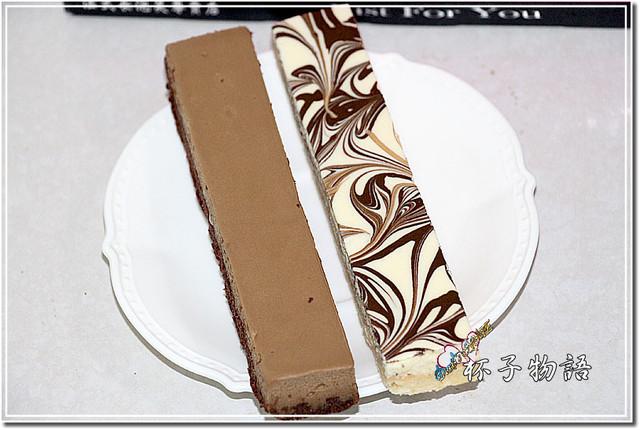 新北中和蛋糕甜點★杯子物語‧法式長起士(原味VS拿鐵)