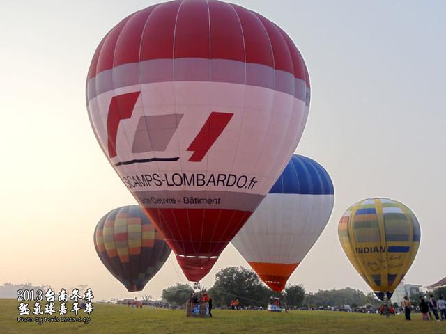 台南大內景點★2013台南冬季熱氣球嘉年華