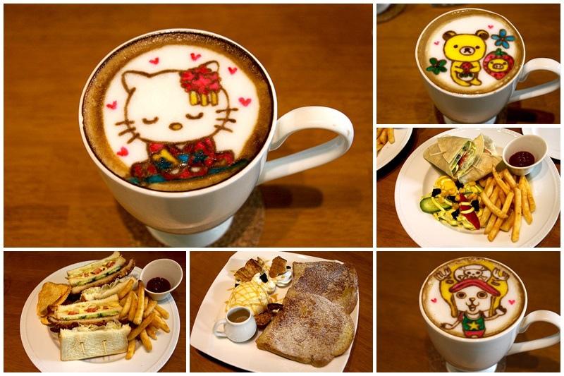 台中西屯複合式餐廳★McFee 麥克菲輕食咖啡  可客製作的彩繪咖啡