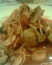 蕃茄海鮮麵