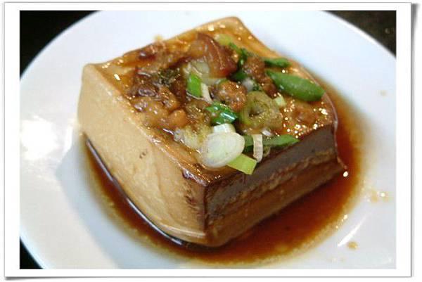 滷豆腐近拍
