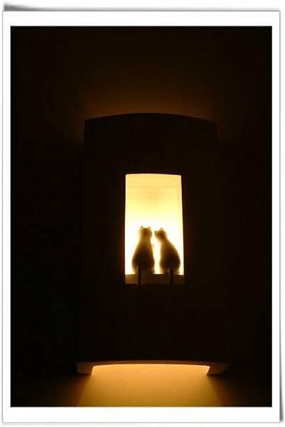 看了讓人心裡暖暖的燈