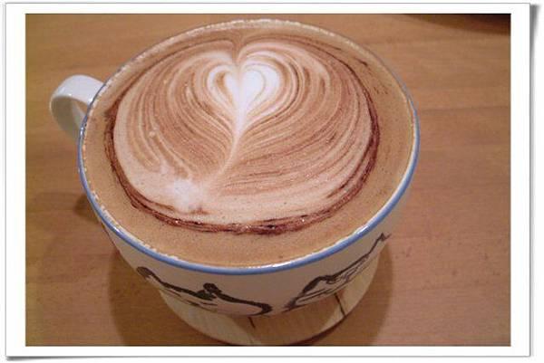 咖啡摩卡味道不錯