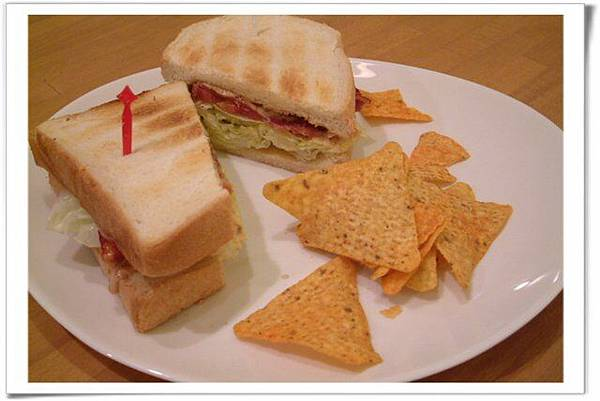 醬煎豬肉三明治