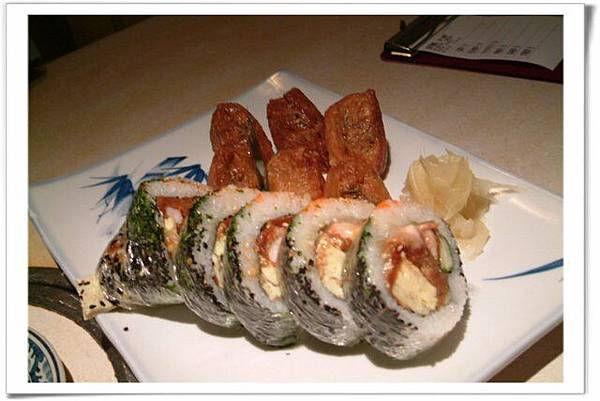 花壽司和豆皮壽司