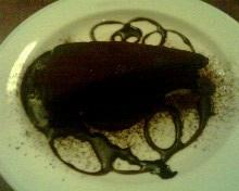 餐後巧克力蛋糕