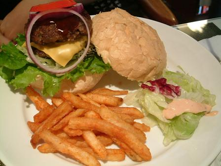 BBQ起司漢堡