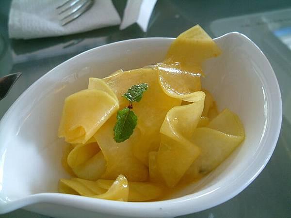 涼拌百香果青木瓜