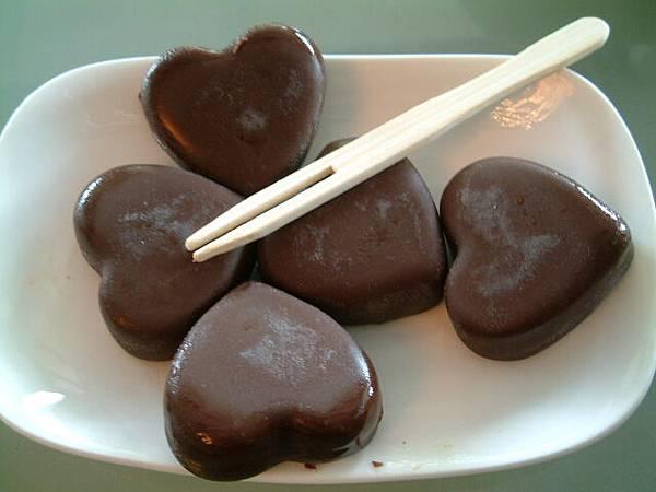 餐後甜點-巧克力雪糕