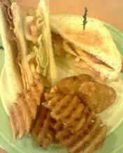 美式培根起司三明治
