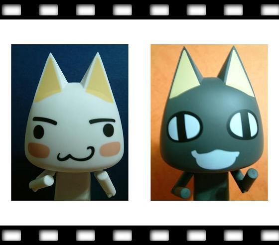 黑白貓合照