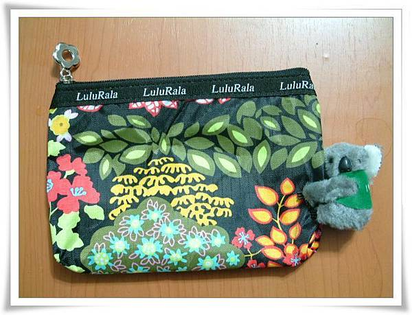 丹尼爾同學送我的可愛小包