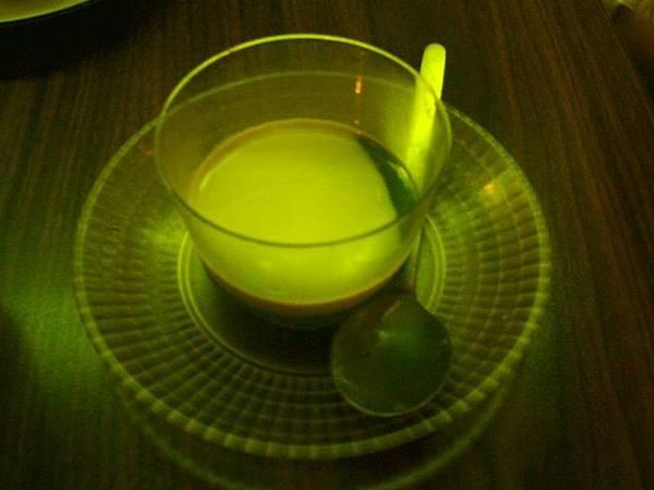 餐後甜點抹茶凍