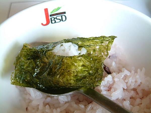 海苔夾石鍋飯