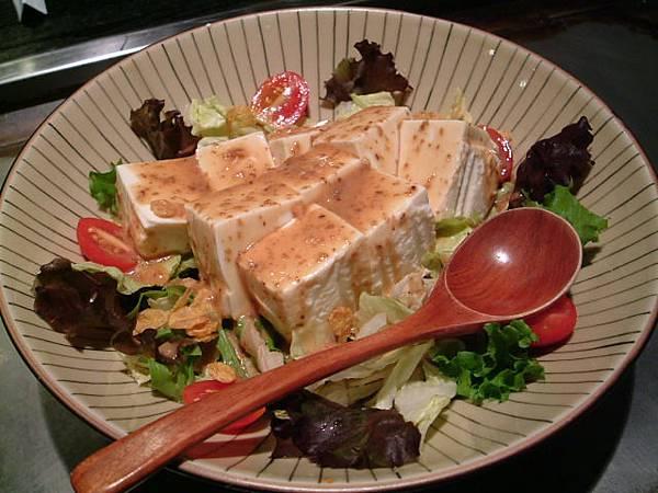 2人套餐-特製豆腐沙拉